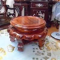 đôn gỗ hương Mặt 22cm x cao 16cm