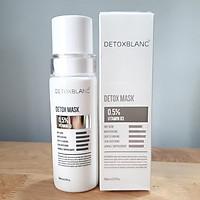 Mặt Nạ Thải Độc Trắng Da Than Hoạt Tính Ngừa Mụn Nám - Detox Mask 30ml - Thương hiệu Detox BlanC(mẫu mới)