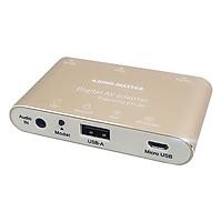 Hộp Chuyển Đổi USB / Audio Sang HDMI / VGA / Audio Kingmaster KY-P001G - Hàng Chính Hãng