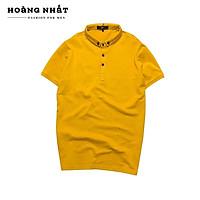 Áo thun nam cổ trụ ngắn tay H&N - A117 vải cotton xuất mềm mịn thấm hút tốt không xù