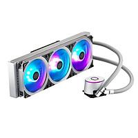 Tản nhiệt nước Cooler Master MasterLiquid ML360P Silver Edition ARGB - Hàng Chính Hãng