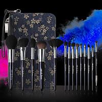 Bộ Cọ Trang Điểm cao cấp 15 cây Mydestiny starry sky 15 pcs Brushes Set Kit Professional