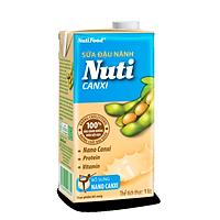 Sữa đậu nành Nuti Canxi Hộp 1 Lítl NSDNX03TI NUTIFOOD