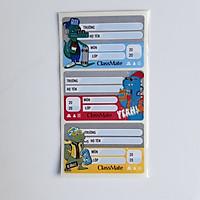 COMBO 5 tp Nhãn vở Funny Classmate - NT225