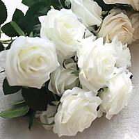 Cành hoa hồng lụa 10 bông