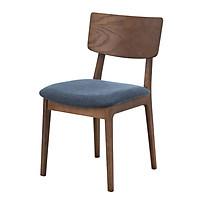 Ghế bàn ăn Nofu 597 gỗ tần bì/bọc vải polyester R47xS56xC81cm