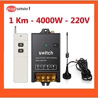 Bộ điều khiển từ xa công suất 4000W - khoảng cách điều khiển 1Km Togismart 4000w/1km/220v - HÀNG CHÍNH HÃNG