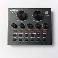 Sound card V8 dành cho micro thu âm cao cấp