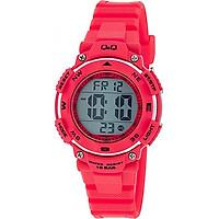 Đồng hồ điện tử Q&Q Citizen M149J004Y dây nhựa thương hiệu Nhật Bản