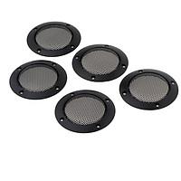 5 Pieces 2 Inch Speaker Decorative Round Subwoofer
