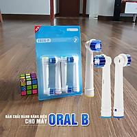 Cho máy Oral B Braun, bộ 4 Đầu Bàn Chải đánh răng điện thay thế MIHOCO EB20-P New  , làm sạch mảng bám, chăm sóc nướu