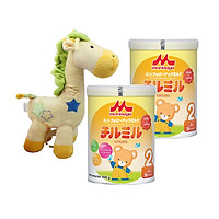 Combo Sữa Morinaga Số 2 Chilmil (850g) và thú bông rút nhạc
