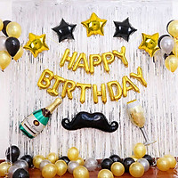 Combo bong bóng trang trí sinh nhật Cheer Mr