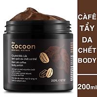 Tẩy Da Chết Cà phê Đăk Lăk Cocoon 200ml