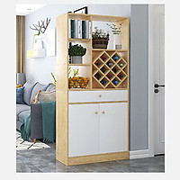 Tủ trang trí kiêm vách ngăn phòng khách TUR051-2