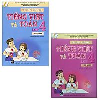 Combo Thực Hành Tiếng Việt Và Toán - Lớp 4: Tập 1 Và 2 (Bộ 2 Tập)