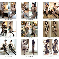 Nhiều Mẫu Đồ Ngủ Lưới Xuyên Thấu Gợi Cảm Cosplay Sexy Bodystocking erotic lingerie Nightwear Brave Man BCS21