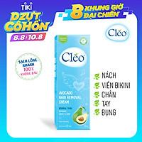 Kem Tẩy Lông Cho Da Thường Cleo Avocado Hair Removal Cream Normal Skin (50g)