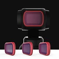Bộ 3 filter CPL ND8 ND16 Osmo Pocket – Professional – hàng chính hãng PGYtech
