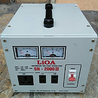 Ổn áp lioa 2kva model SH - 2000 II dây đồng 100%