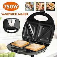 220V 750W Household Mini Steak Machine Hamburger Fried Egg Panini Sandwich Maker