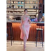 Đầm body dự tiệc kết cườm xẻ đùi siêu xinh TRIPBLE T DRESS - size M/L MS298V