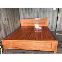 Giường ngủ gỗ xoan đào dạt phản