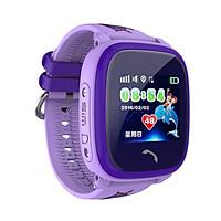 Đồng hồ thông minh định vị trẻ em DF25 (Tím) - tặng vòng tay Ruby