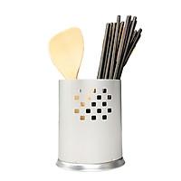 Ống cắm dao đũa vuông,tròn hút chân không đa năng chất liệu nhôm đúc cao cấp phù hợp cho gian bếp mỗi gia đình  Gelife