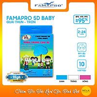 Khẩu Trang Y Tế 5D Trẻ Em Nam Anh - Hộp 10 cái