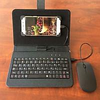 Vỏ bảo vệ điện thoại tích hợp bàn phím chuột cho điện thoại Android có hỗ trợ OTG
