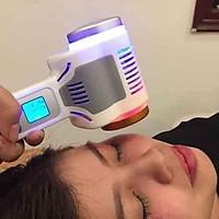 Búa nóng lạnh 2 đầu dùng massage điện di tinh chất cho spa, thẩm mỹ viện