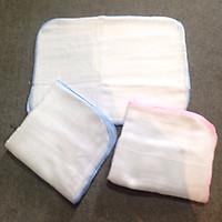 Khăn sữa cotton 2 lớp mềm cho bé - Set...