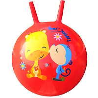 Fisher Price Toy children's toy ball baby jumping ball 40cm (red donated inflatable foot pump) F0704H