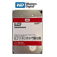 Ổ Cứng HDD WD Red 8TB 3.5 inch Sata III - Hàng Nhập Khẩu