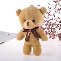 Gấu bông mini nhỏ xinh cao 12.5 cm-dùng làm móc khoá balo túi cặp cực dễ thương- GIAO MÀU NGẪU NHIÊN
