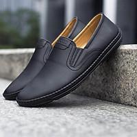 Giày lười nam đẹp da PU - Giày mọi đẹp UDANY GLN04
