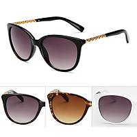 Women Fashion Metal Anti UV Sunglasses