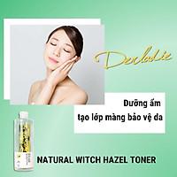 Combo Toner + Serum + Kem dưỡng ẩm Giảm Mụn Chiết Xuất Cây Phỉ Derladie Witch Hazel Perfect Vitamin