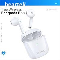 Tai nghe bluetooth không dây BEARTEK Bearbuds B68 True Wireless chống ồn hiệu quả - Thiết kế trẻ trung, cá tính – Định vị - Cảm ứng – Thời gian sử dụng lên tới 4h -  Hàng nhập khẩu