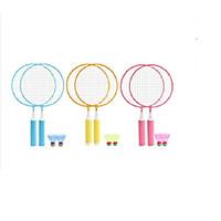 Bộ 2 vợt cầu lông cho bé tập đánh cầu 43x23cm+Tặng kèm 2 quả cầu, nhiều màu, giao màu ngẫu nhiên-Bộ vợt đánh cầu lông 2 trong 1 tiện lợi phù hợp cho bé trai và bé gái- Cặp vợt cầu lông trẻ em