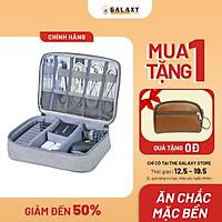 Túi Bảo Vệ Phụ Kiện Thông Minh Đa Năng Cao Cấp Galaxy Store GTPK01 (24x17x6.5 cm) - Hàng Chính Hãng