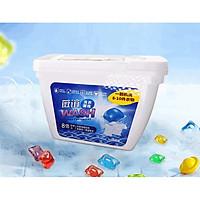 Hộp 50 viên giặt Gelball Blue 3D phù hợp cho mọi máy giặt