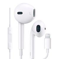 Tai nghe nhét tai dành cho Apple Earpods with Remote and Mic Promax EarX kết nối Bluetooth, cổng Lightning - Hàng nhập khẩu