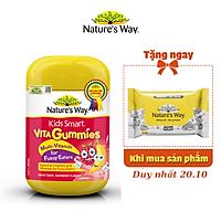 Kẹo Dẻo Cho Bé Nature's Way Kids Smart Vita Gummies Multi Vitamin for Fussy Eaters Kích Thích Ăn Ngon 60 Viên