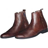 Giày Boots Nam Da Bò Thật B142