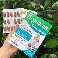 Pregnacare Breast-feeding Bổ Sung Vitamin Và Lợi Sữa cho mẹ sau sinh số 1 Anh chính hãng