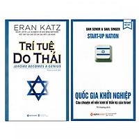 Combo Sách Về Người Do Thái - Trí Tuệ Do Thái và Quốc Gia Khởi Nghiệp (Tái Bản 2019) ( tặng kèm bookmark)