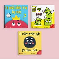 Combo Ehon Điều Kỳ Diệu Từ Những Hình Khối - Bộ 3 Cuốn (Ehon Nhật Bản 0-6 Tuổi) - Kèm Sổ Tay Mini Siêu Dễ Thương