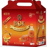 Nước Uống Hồng Sâm Mật Ong Biok (350ml * 6 chai)